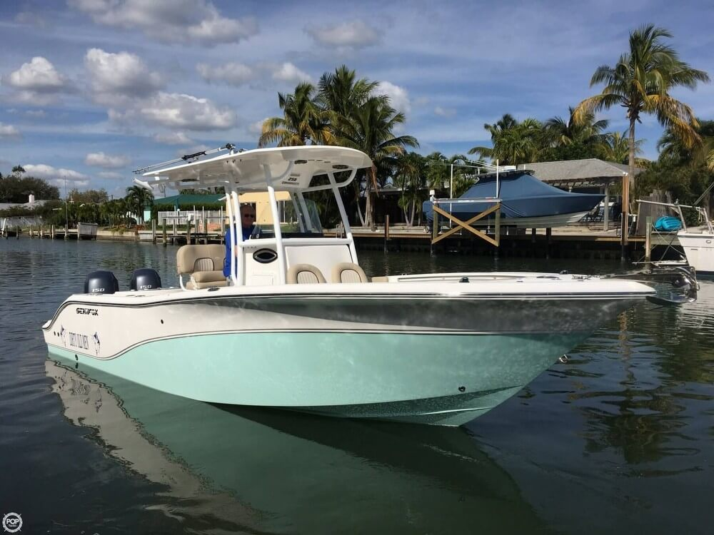 2015 Sea Fox boat for sale, model of the boat is 256 Commander Center Console. & Image # 2 of 40