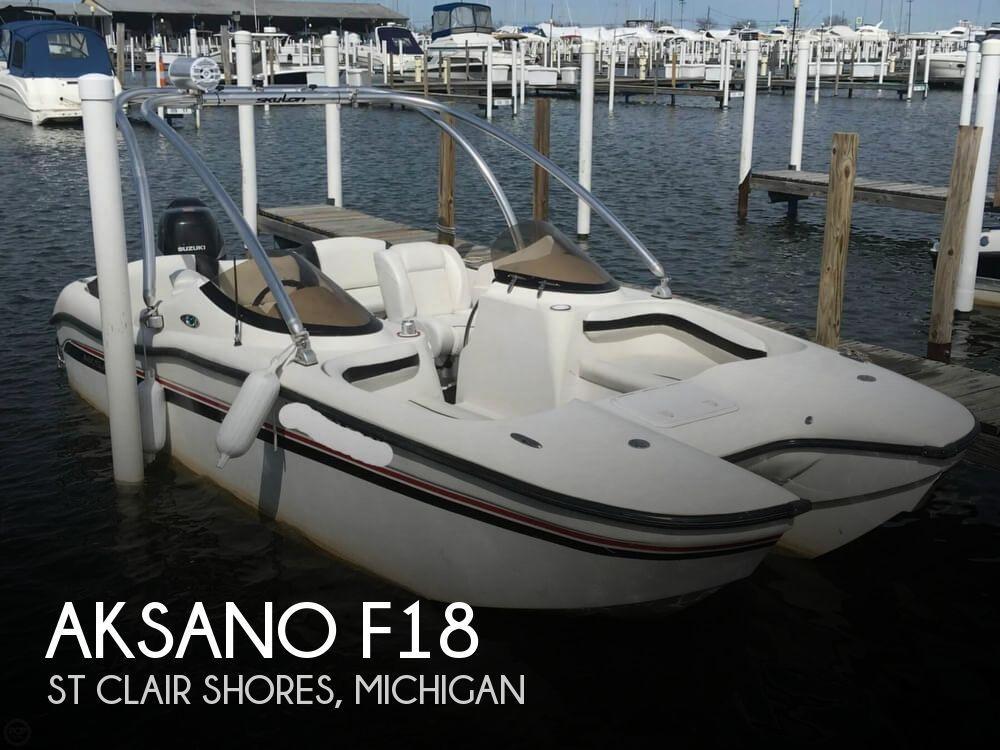 2007 Aksano boat for sale, model of the boat is F18 & Image # 1 of 40
