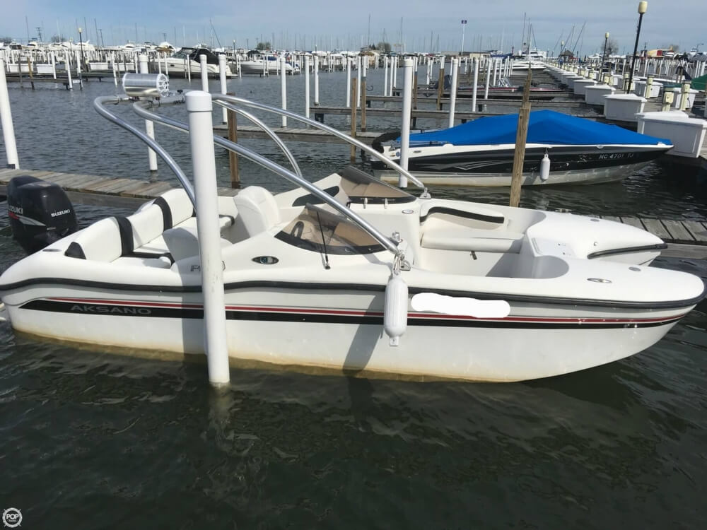 2007 Aksano boat for sale, model of the boat is F18 & Image # 16 of 40
