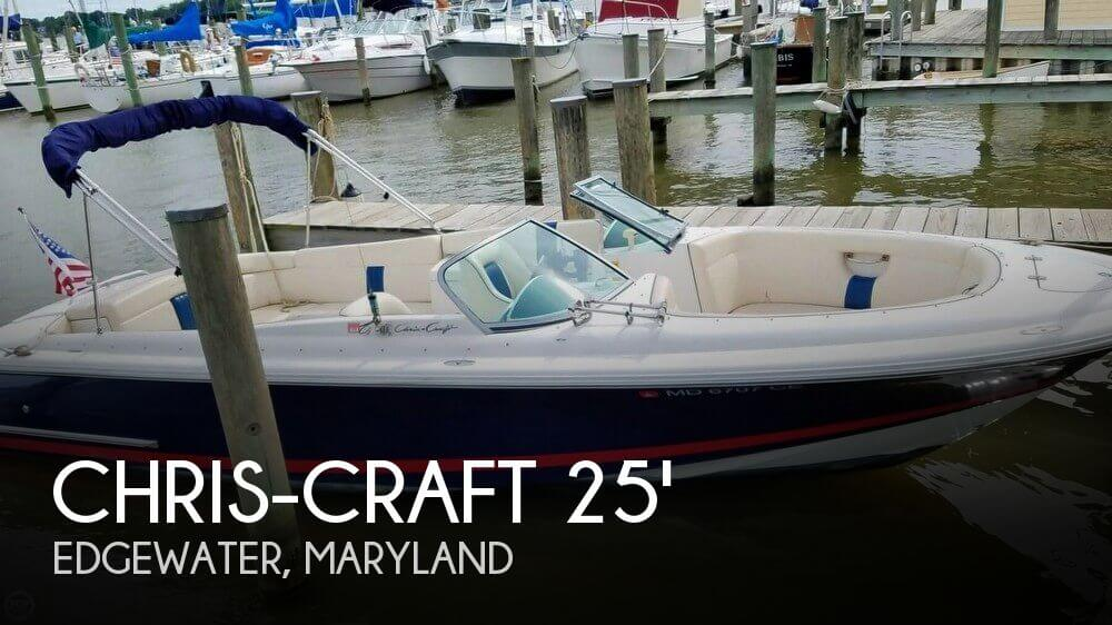 For sale used 2003 chris craft 25 launch in edgewater for Used chris craft launch for sale