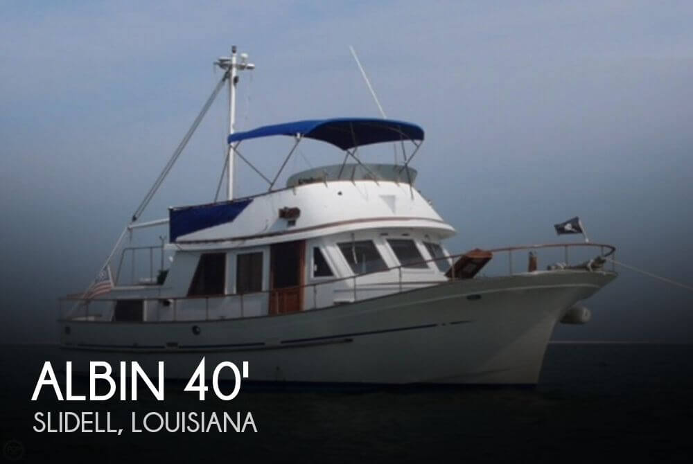 1983 Albin 40 Trawler Double Cabin Single Screw