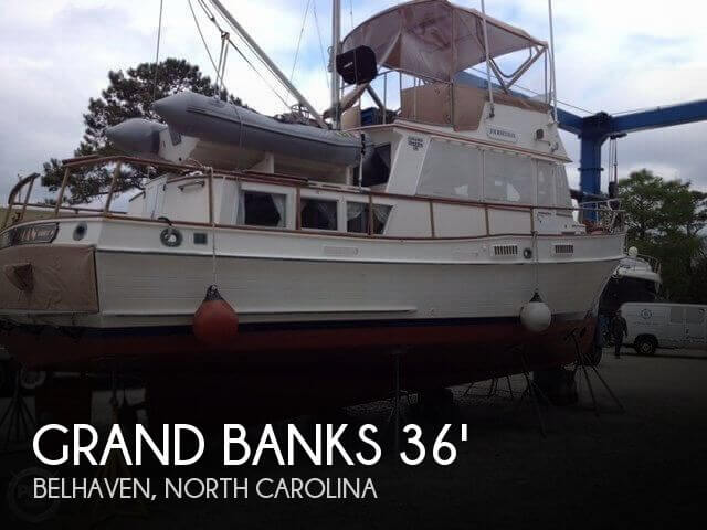 Used GRAND BANKS Boats For Sale by owner | 1977 Grand Banks 36 Classic