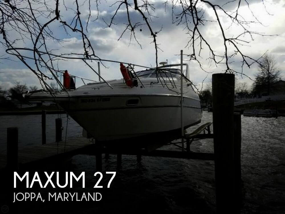 Used Maxum Boats For Sale in Maryland by owner | 1996 Maxum 27