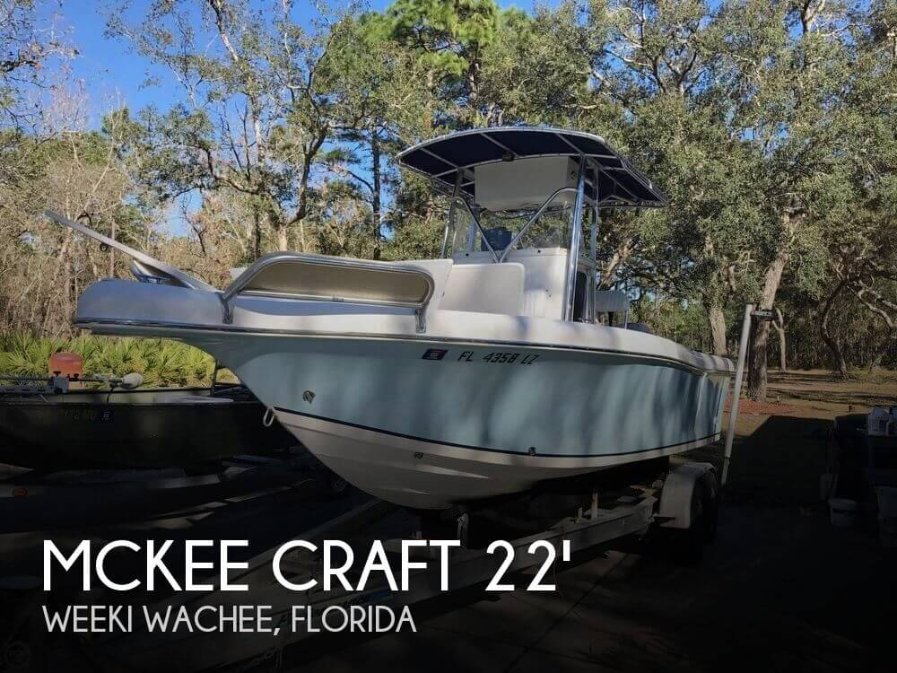 Used Mckee craft Boats For Sale by owner   2003 Mckee Craft 22