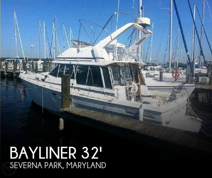 Used Motoryachts For Sale in Maryland by owner | 1986 Bayliner 35
