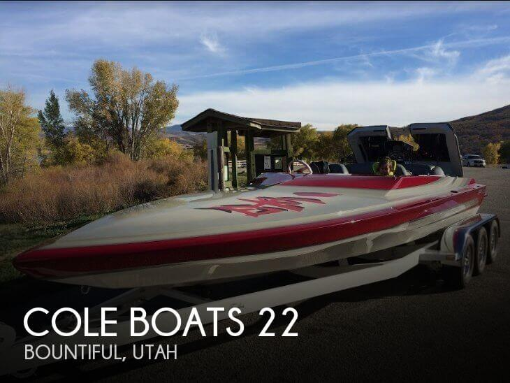 Used Boats For Sale in Ogden, Utah by owner | 1991 Cole Boats 22