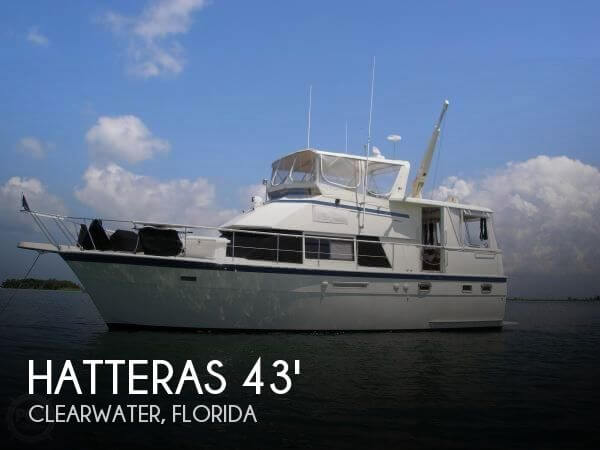 Used HATTERAS Boats For Sale by owner | 1986 Hatteras 43 Double Cabin