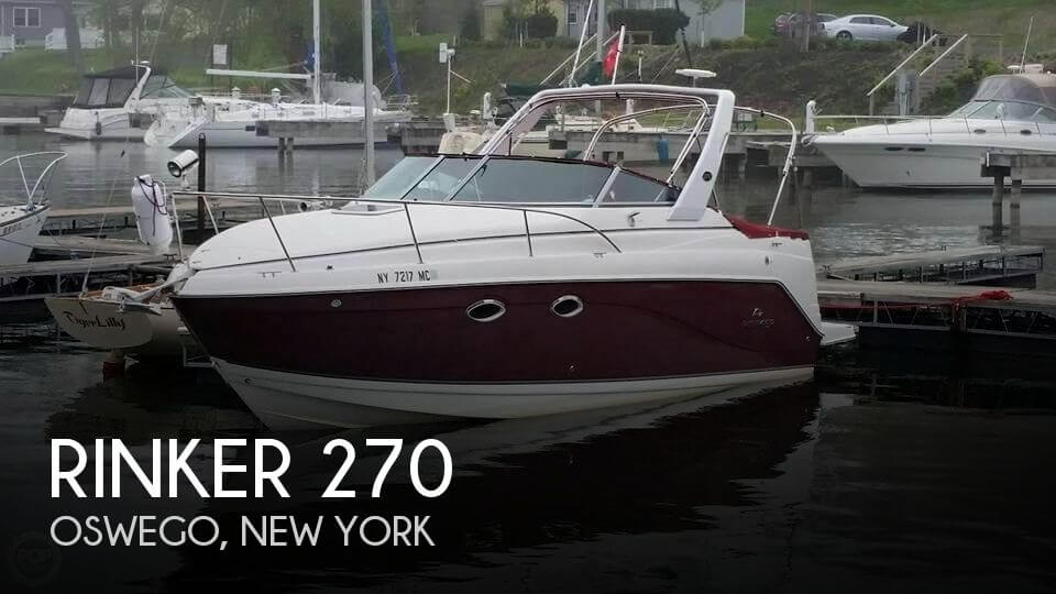 Used Rinker Boats For Sale in New York by owner | 2007 Rinker 27