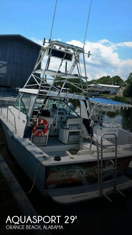 Used Aquasport Boats For Sale by owner | 1987 Aquasport 29
