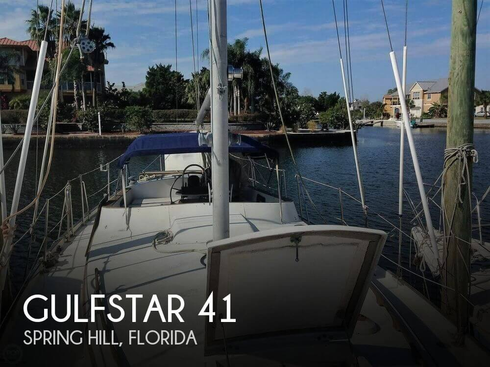 Used Gulfstar Boats For Sale by owner | 1975 Gulfstar 41