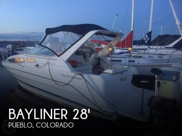 28 foot bayliner 28 28 foot motor boat in pueblo co for Local motors pueblo co