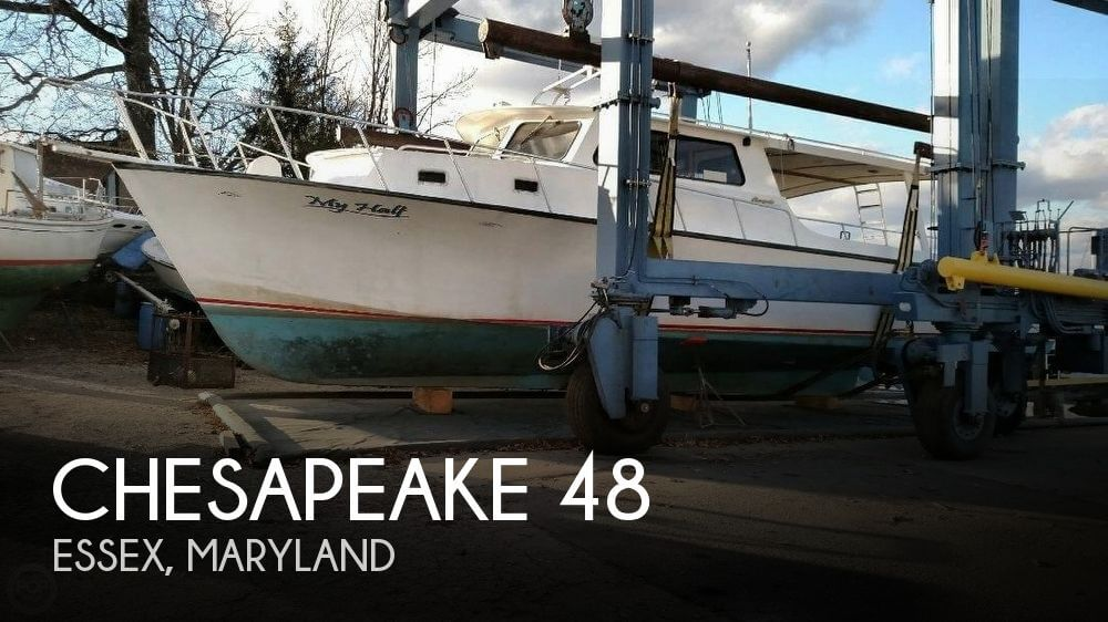 Used Power boats For Sale in Maryland by owner | 2001 Chesapeake 48