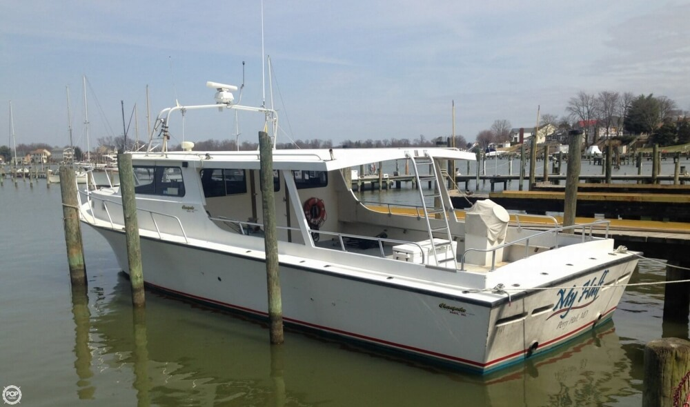 2001 Chesapeake boat for sale, model of the boat is 48 & Image # 3 of 40