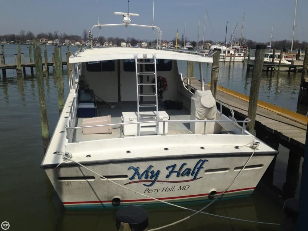 2001 Chesapeake boat for sale, model of the boat is 48 & Image # 6 of 40