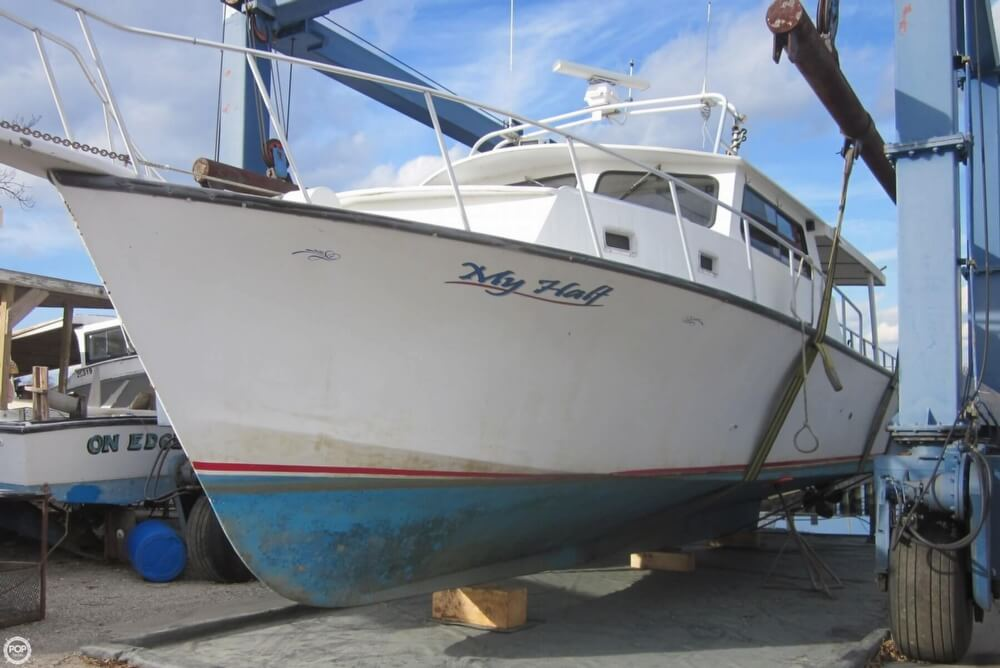 2001 Chesapeake boat for sale, model of the boat is 48 & Image # 7 of 40
