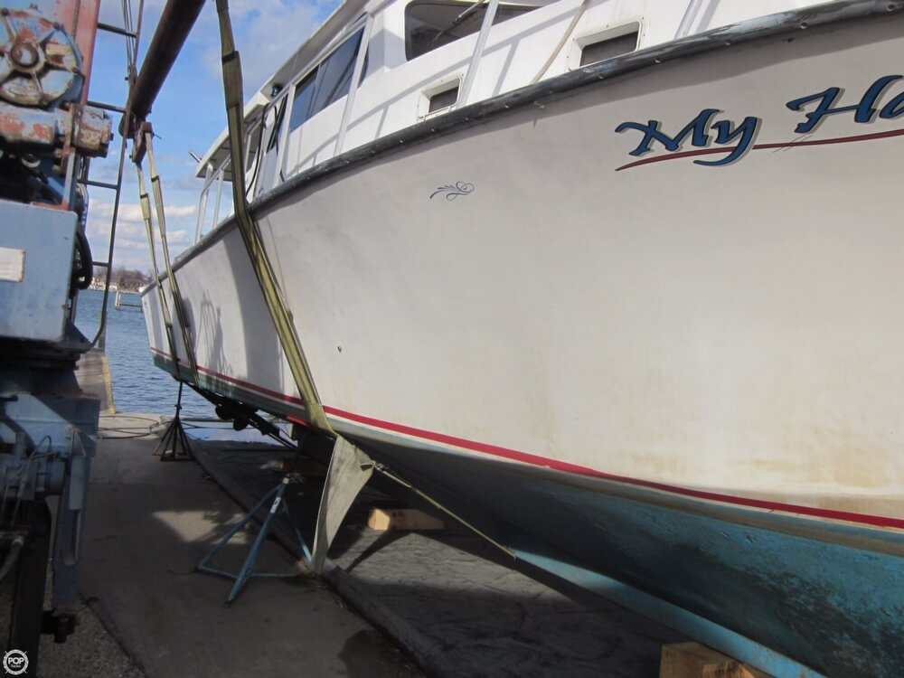 2001 Chesapeake boat for sale, model of the boat is 48 & Image # 10 of 40