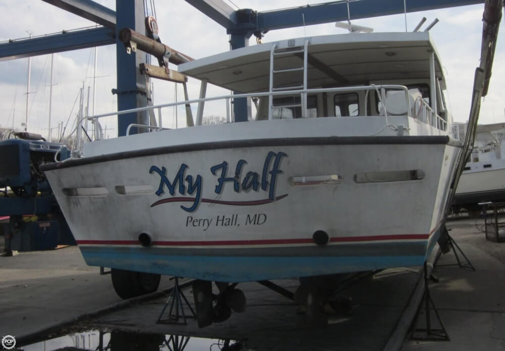 2001 Chesapeake boat for sale, model of the boat is 48 & Image # 22 of 40