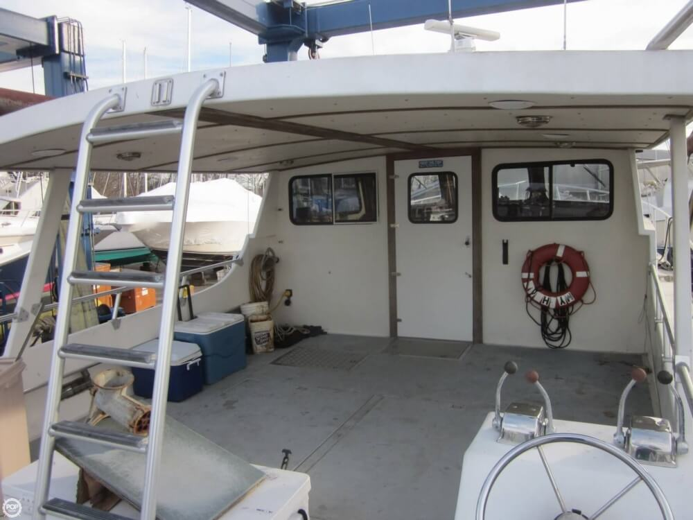 2001 Chesapeake boat for sale, model of the boat is 48 & Image # 28 of 40
