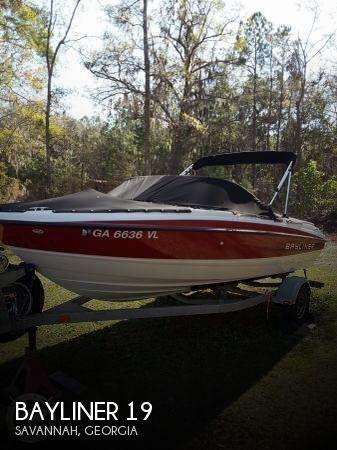 Used Bayliner Boats For Sale in Georgia by owner   2011 Bayliner 19