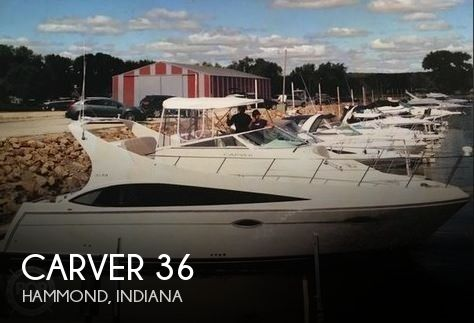 Used Boats For Sale in Indiana by owner | 2008 Carver 36