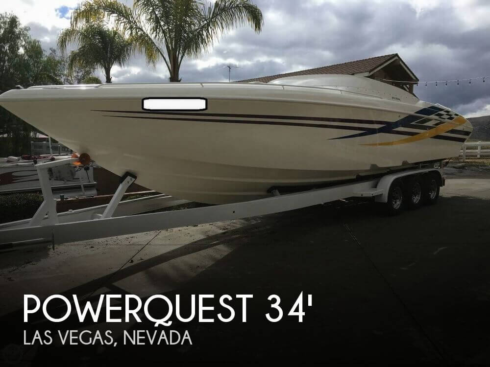 Used Boats For Sale in Nevada by owner | 2000 Powerquest 34