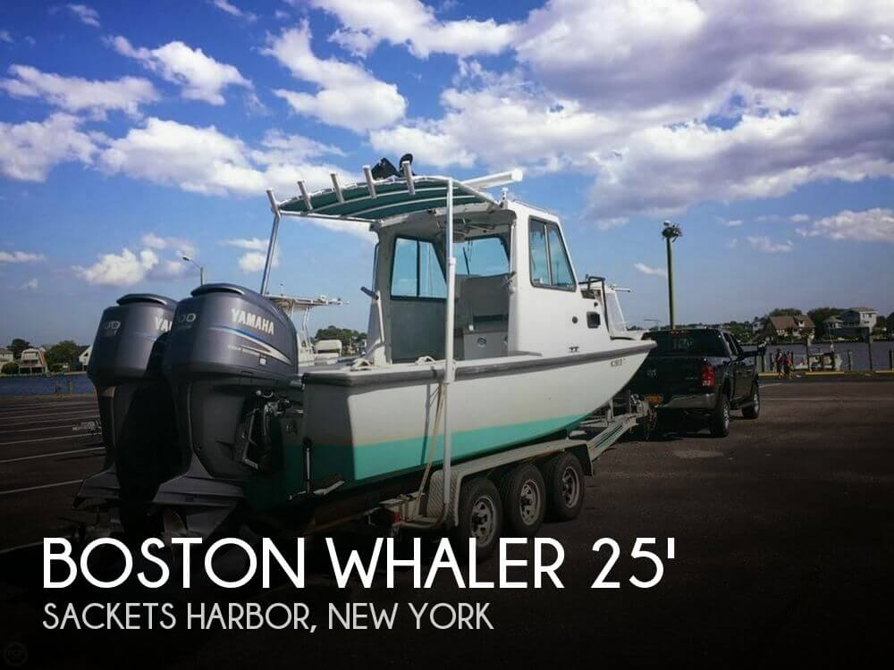 Used Boats For Sale in Utica, New York by owner | 2002 Boston Whaler 25
