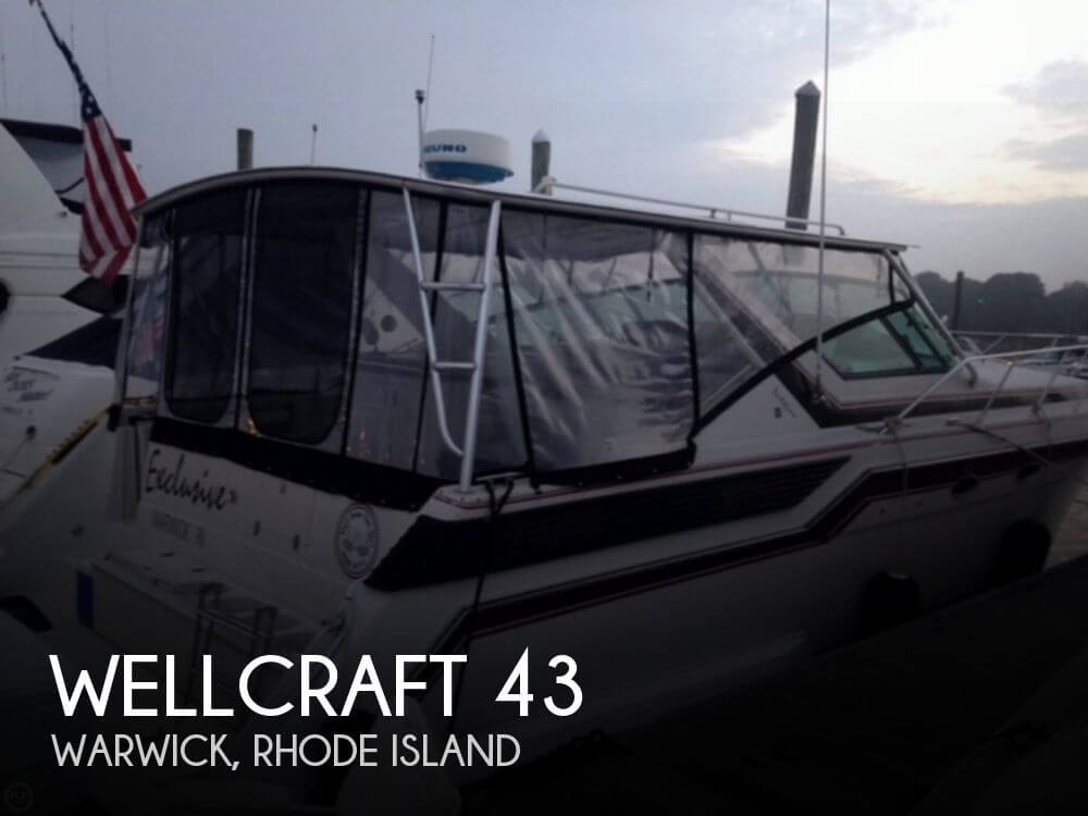 Used Boats For Sale by owner | 1988 Wellcraft 43
