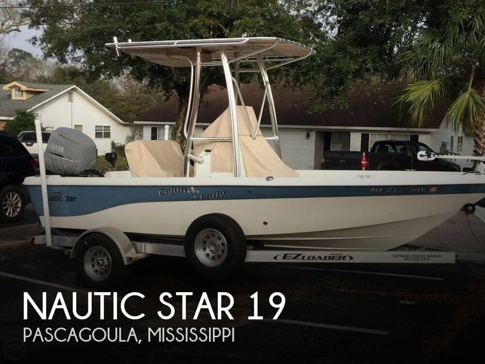 Nautic Star 19 For Sale In Pascagoula Ms For 31 700