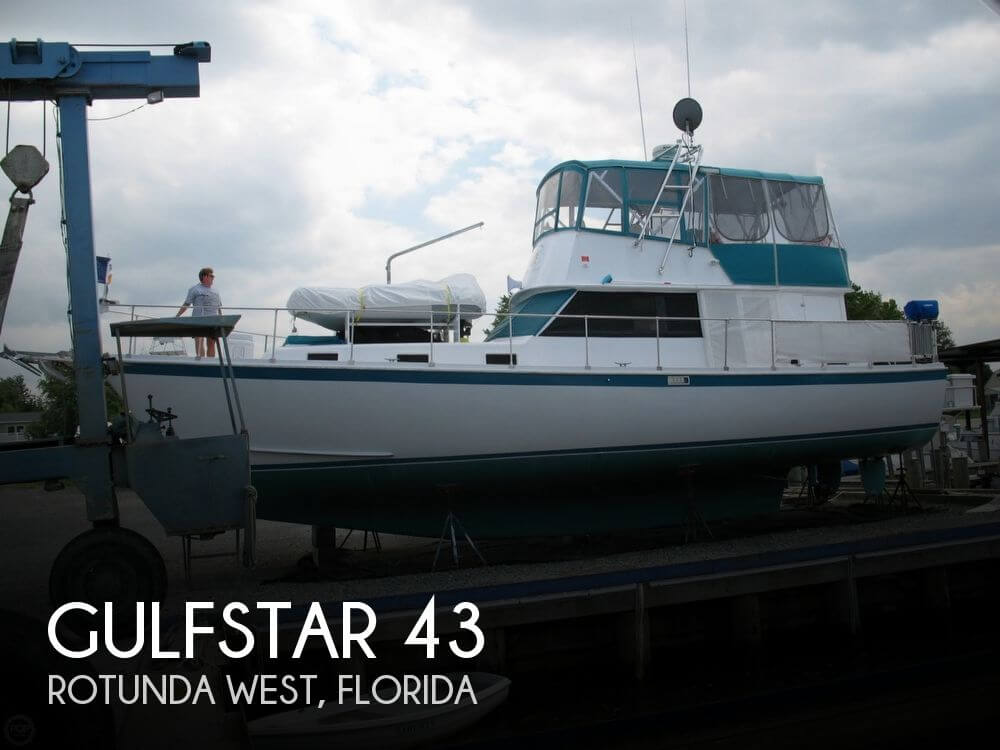 Used Gulfstar Boats For Sale by owner | 1972 Gulfstar 43