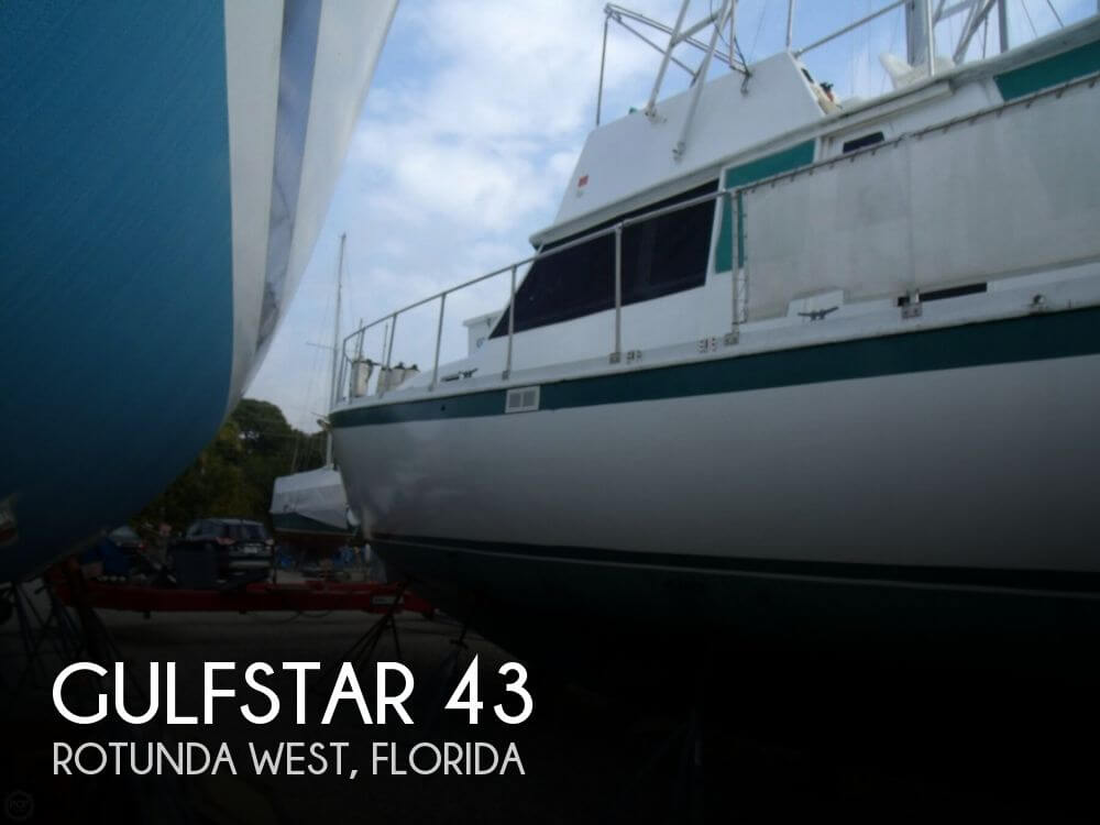 1972 GULFSTAR 43 for sale
