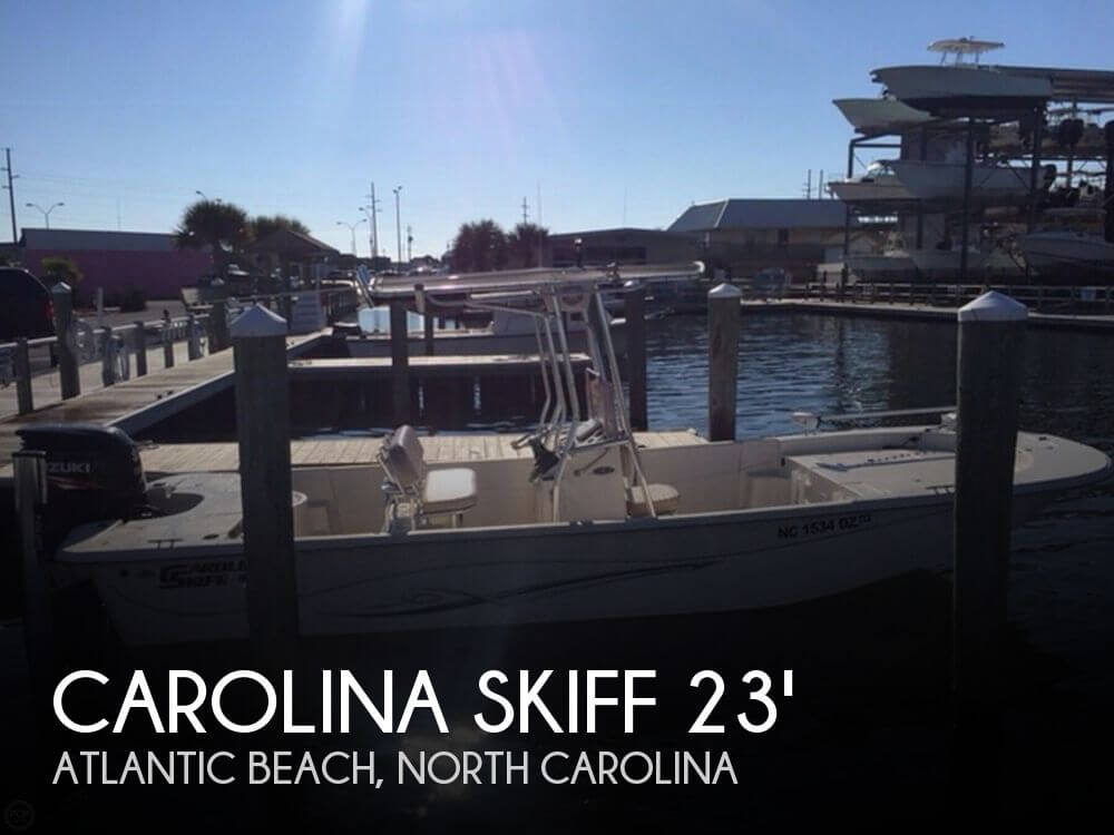 Used Carolina Skiff Boats For Sale by owner   2014 Carolina Skiff 23