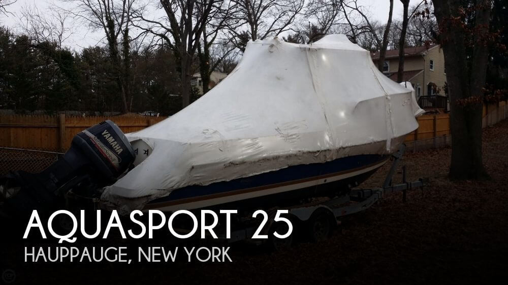 Used Aquasport Boats For Sale by owner | 2002 Aquasport 25
