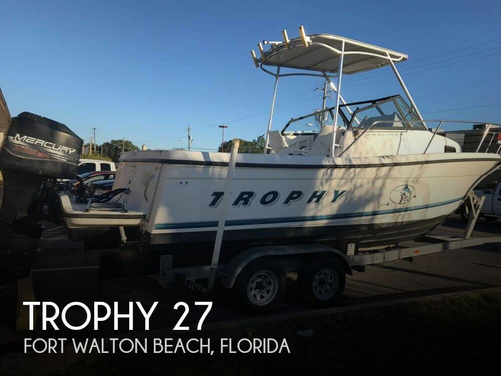 Sold trophy 27 boat in fort walton beach fl 121917 for Fort walton beach fishing