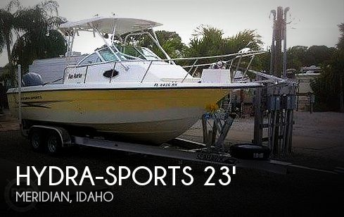 Used Boats For Sale in Boise, Idaho by owner | 2004 Hydra-Sports 230 Lighting WA