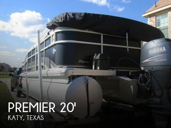Used Pontoon Boats For Sale in Texas by owner | 2011 Premier Pontoons 20