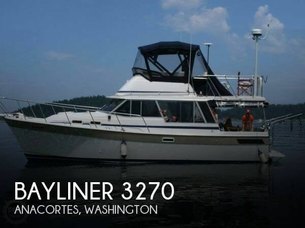 Used Motoryachts For Sale in Washington by owner | 1983 Bayliner 36