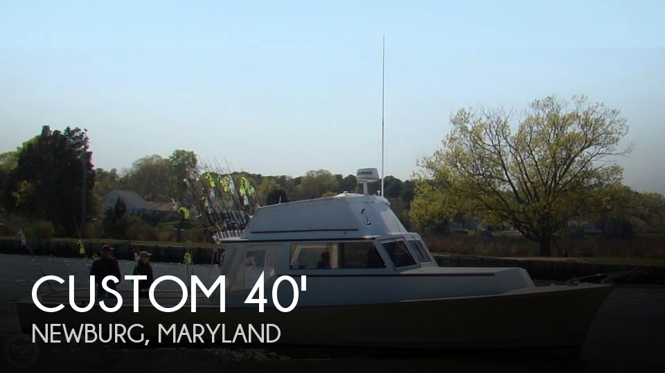 Used Boats For Sale in Richmond, Virginia by owner | 1972 Custom 40