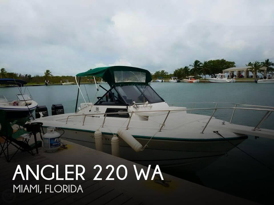 Used Angler Boats For Sale by owner | 1994 Angler 22