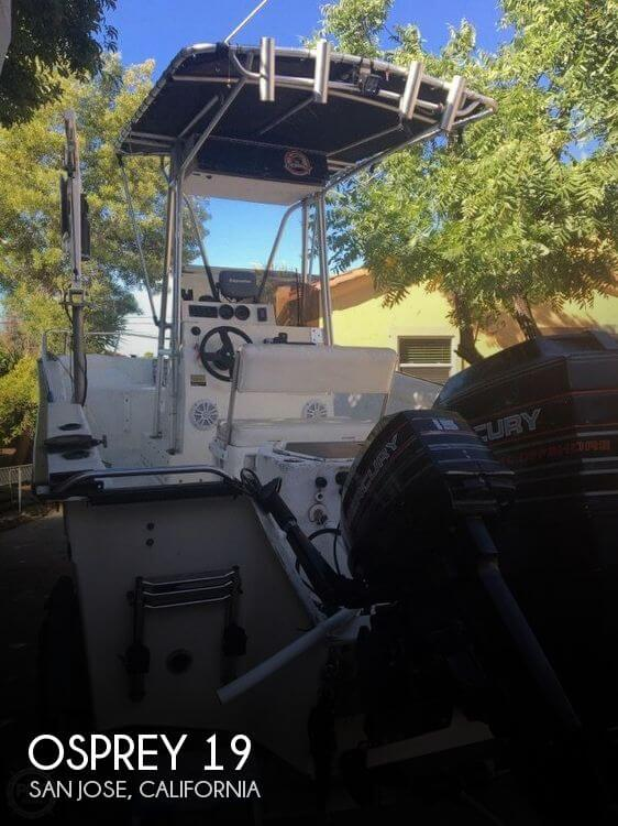 Used Osprey Boats For Sale by owner   1995 Osprey 19