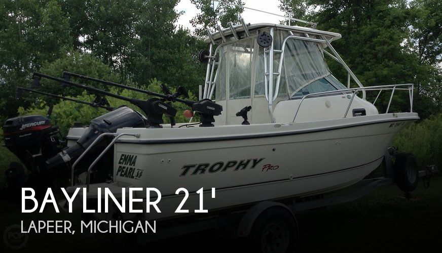 Used Bayliner Boats For Sale in Michigan by owner | 2002 Bayliner 21