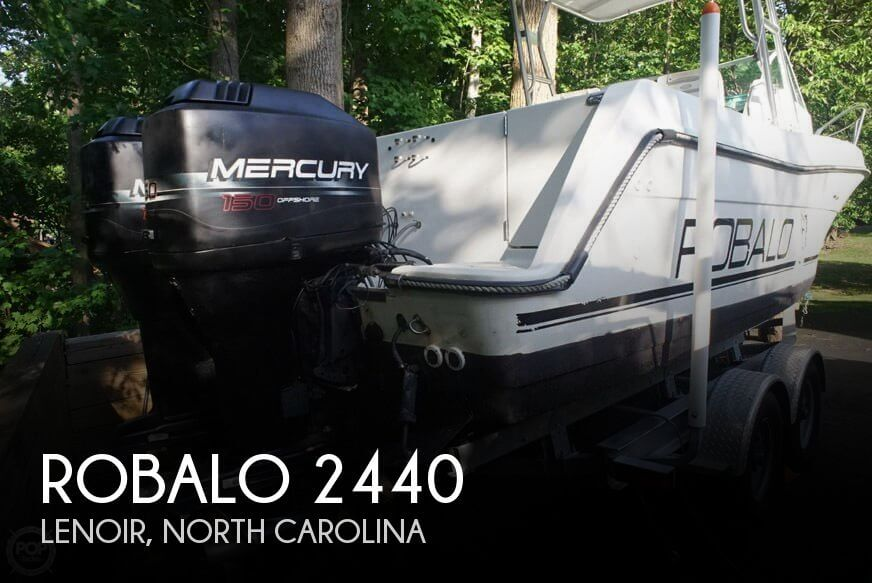 Used Boats For Sale in Johnson City, Tennessee by owner | 1996 Robalo 24