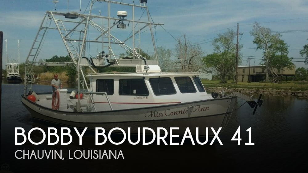 Used Boats For Sale in New Orleans, Louisiana by owner   2007 Bobby Boudreaux 41