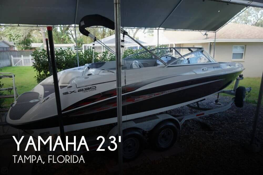 Sold yamaha sx230 high output boat in tampa fl 122183 for Yamaha jet boat for sale florida