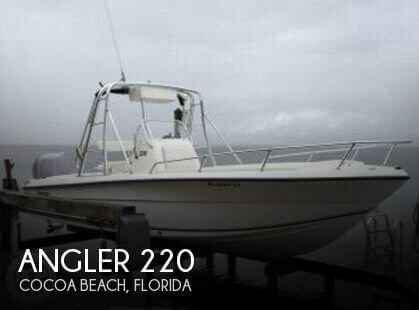 Used Angler Boats For Sale by owner | 2001 Angler 22
