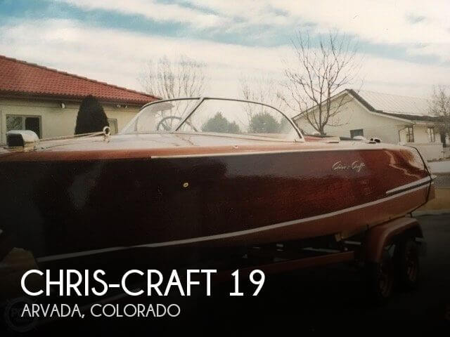 Used Boats For Sale in Fort Collins, Colorado by owner | 1956 Chris-Craft 19