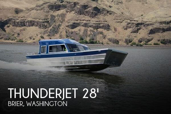 Used Boats For Sale in Olympia, Washington by owner | 2016 Thunderjet 28