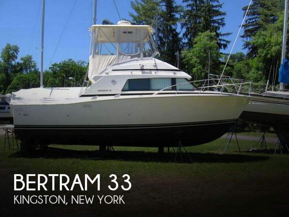 Used Boats For Sale in Albany, New York by owner | 1989 Bertram 33
