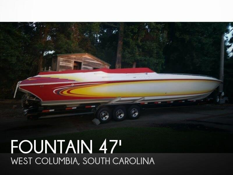 Used Fountain Boats For Sale by owner | 2005 Fountain 47