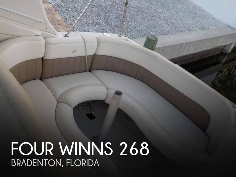 Used Four Winns Boats For Sale in Florida by owner | 2004 Four Winns 268