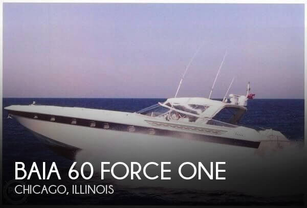 Used Boats For Sale in Chicago, Illinois by owner | 1990 Baia 60